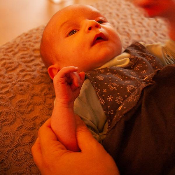 En Zelf Aan de Slag Baby Massage