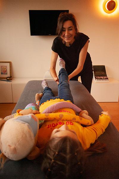 Kindermassage voor Wie Crisnee