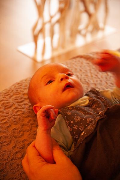 Zelf Aan de Slag Baby Massage